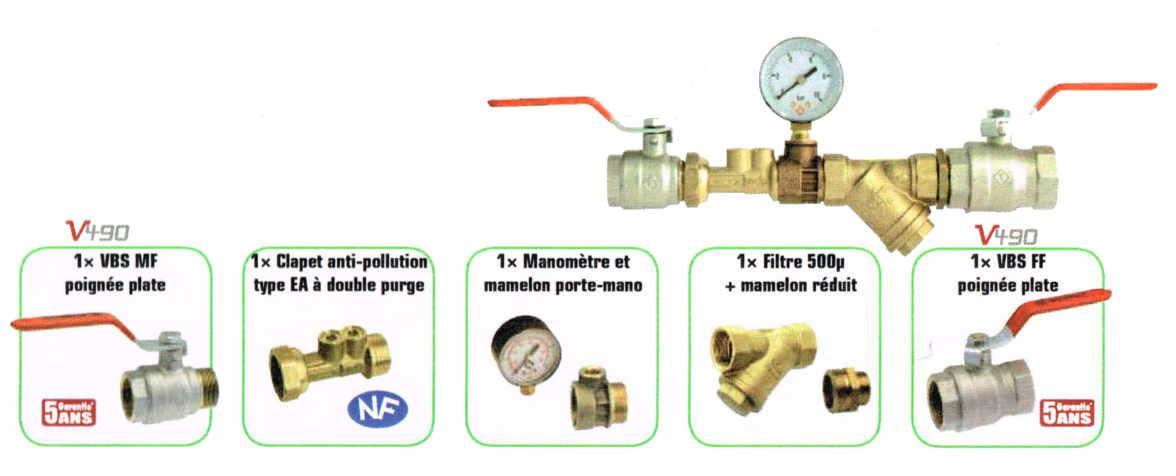 Clapet anti pollution somatherm kit remplissage anti - Clapet anti pollution ...